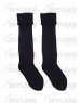 Scottish Black Kilt Hose Socks Highland Wear Kilt Accessories