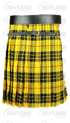 Traditional Macleod of Lewis Tartan 5 Yard 13oz. Scottish Kilt