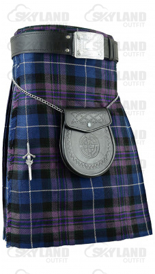 Traditional Pride of Scotland Tartan 5 Yard 13oz. Scottish Kilt