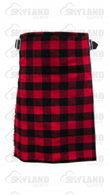 Traditional Rob Roy Tartan 5 Yard 13oz. Scottish Kilt